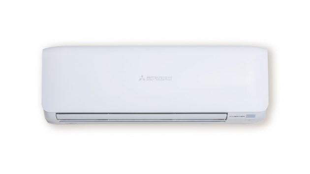 Mitsubishi wall mounted split system air conditioner