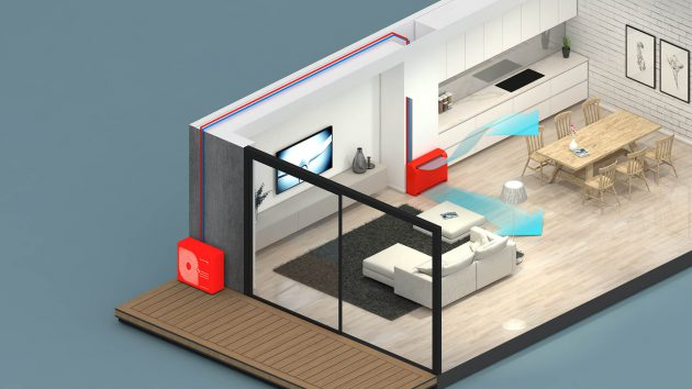 Mitsubishi floor standing air conditioners