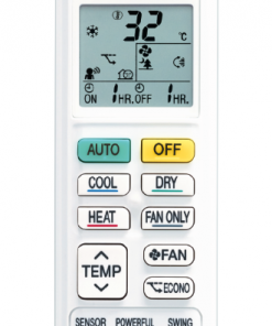 Daikin Lite air conditioner remote control
