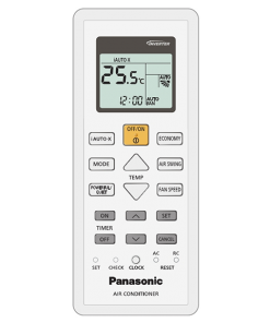 Panasonic Aero air conditioner cooling only remote control